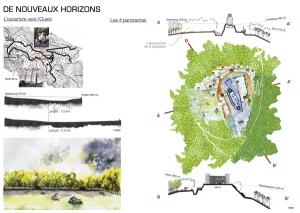 projet paysage du chateau d'andlau