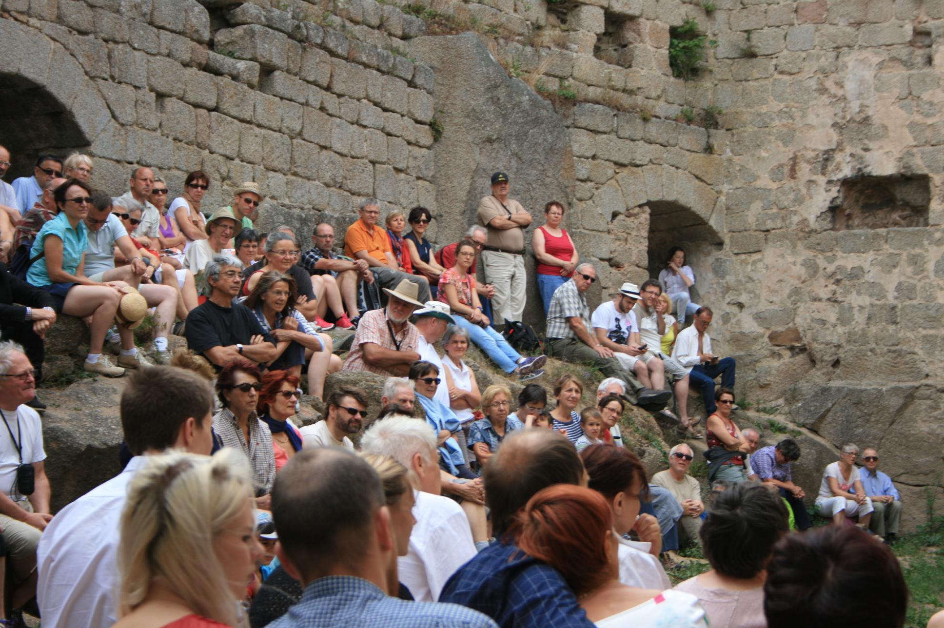 concert quatuor Yendo au château d'Andlau